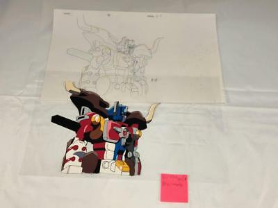 TRANSFORMERS JAPANESE BEAST WARS NEO BIG CONVOY ANIMATION ART CELL cel LOT 205