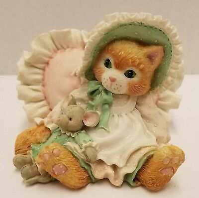 Enesco Calico Kittens~A Warm Hug With My Friend #623504~1993 Original Box