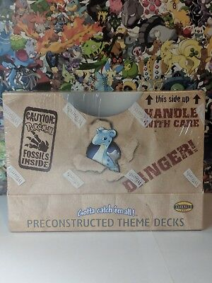 Pokemon Preconstructed Fossil Theme Deck SEALED!!