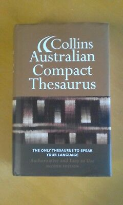 Collins Australian Compact Thesaurus 2nd edition by HarperCollins