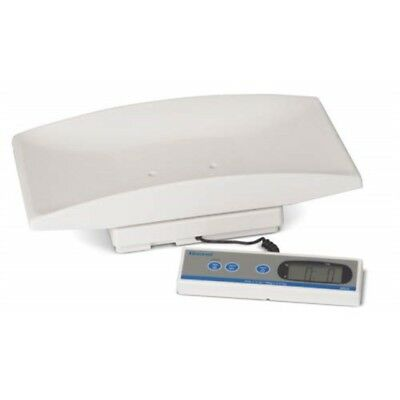 Brecknell MS20S Pediatric/Medical/Veterinary Scale, Stainless Steel Tray, 44 lb