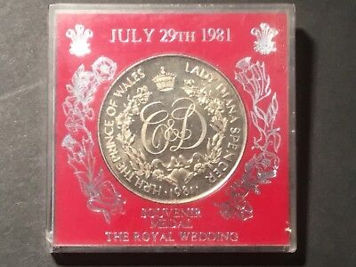 1981 Medallion to commemorate the Royal Wedding. Charles & Diana.