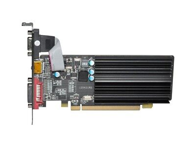 XFX Radeon HD 5450 1GB DDR3 Low Profile Passiv PCIe Grafikkarte (HD-545X-ZCH2)