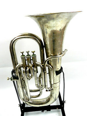 Euphonium Zenith 4 valves used case and mouthpiece (DR18-287)