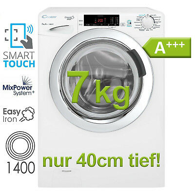 Waschmaschine A+++ 7 kg Touch Display Frontlader 1400 U/m Dampf NFC Candy Hoover