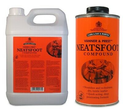 Carr & Day & Martin Vanner & Prest Neatsfoot Compound ALL SIZES restores old or