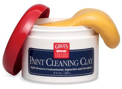Griot's Garage 11153 Paint Cleaning Clay 8oz (Paint Clay 8oz)