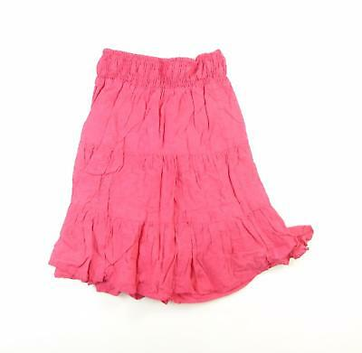 Miss Evie Girls Red Spotted Skirt Age 8-9