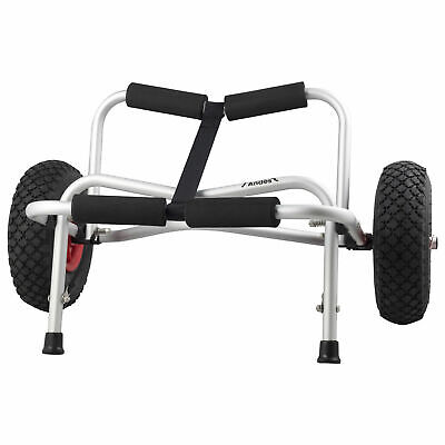 Heavy Duty Sit On Top Kayak Canoe Trolley Foldable Scupper Cart With Stand