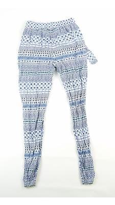 Young Dimension Girls Blue Geometric Trousers Age 12-13