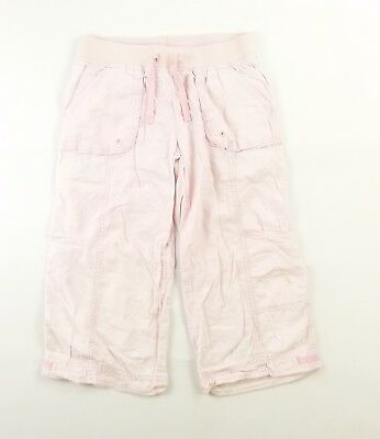 Next Girls Pink Plain Trousers Age 9