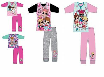 Girls Lol Surprise Dolls Pyjamas Kids Pjs Set Character Gift