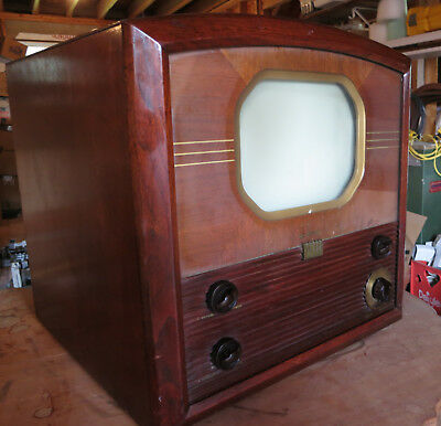 RCA 730 TS Television With Channel 1.  Circa 1947