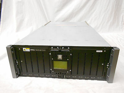 Dell EqualLogic PS6500 SAN iSCSI Storage System Chassis PS6500E PS6500X PS6500XV