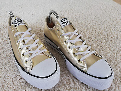 CONVERSE Chuck Taylor All Star Lift Ox Metal Plateausneaker