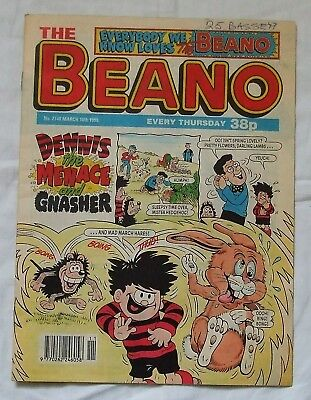 1995 THE BEANO Comic No. 2748