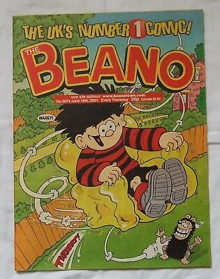2001 THE BEANO Comic No. 3074