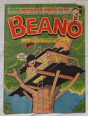 2001 THE BEANO Comic No. 3053