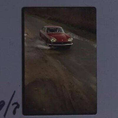 Rare Lot Ektachrome De Presse Original 1964 Essai FERRARI 330 GT !!!