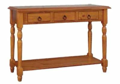 Belview  Timber Hall - Console Table in Blackwood