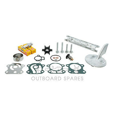 Yamaha Annual Service Kit with Anodes for 60-70hp 2 Stroke 2003 & Older Outboard