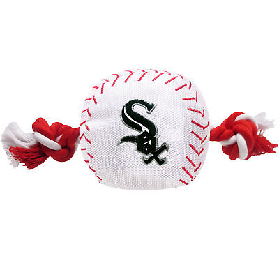 Pets First MLB Chicago White Sox Baseball Toy, Large