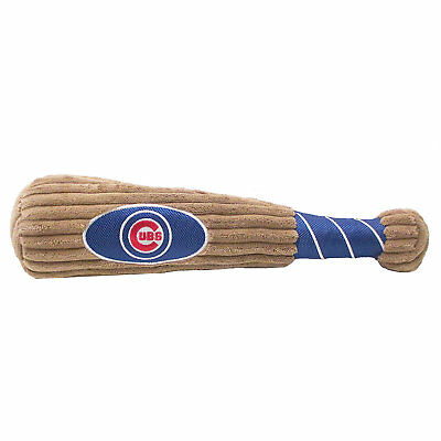 Pets First MLB Chicago Cubs Baseball Bat Toy, Large