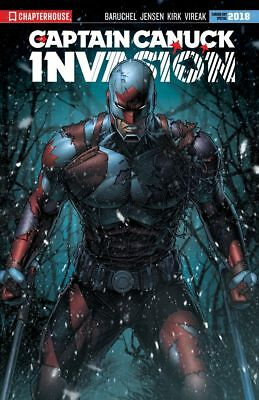 Captain Canuck Invasion #0 Canada Day Special 2018 Aod Dale Keown Cover Preorder