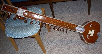Full Size Sitar With Hard Case Buyer Pays Shipping