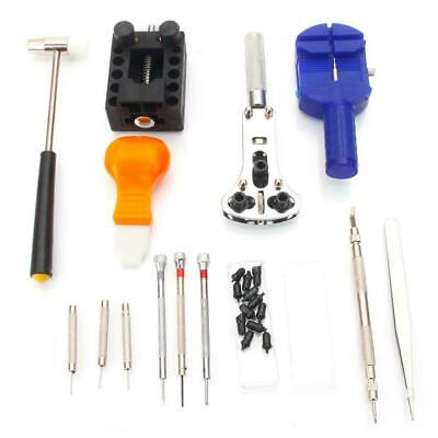 13PCS Watch Repair Tool Kit Case Opener Link Remover Spring Bar Tool W/Case New