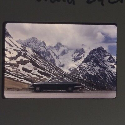 Rare Lot Ektachrome De Presse Original 1965 PANHARD 24 CT !!!