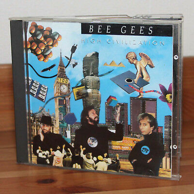 Bee Gees High Civilization CD Album 1991 Warner Bros Records aus Sammlung