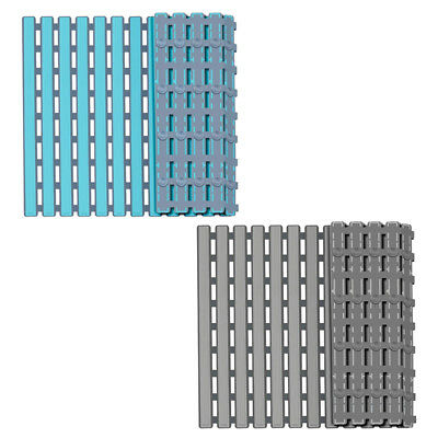 Non Slip Bath Mat with Suction Cups, Bathroom Kitchen Door Floor Tub Shower N8V5