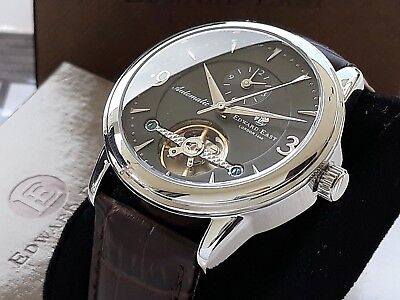 Orologio Automatico Dual-Time Uomo Edward East English Made Men's Automatic NEW