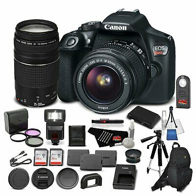 Canon EOS Rebel T6 Digital SLR Camera Bundle with EF-S 18-55mm f/3.5-5.6 IS...