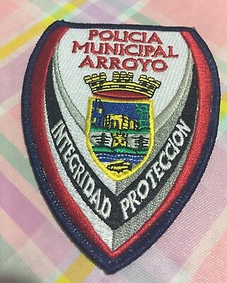 Puerto Rico Police Patch... Municipality Of Arroyo