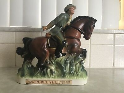 1969 Stitzel and Weller Rebel Yell decanter