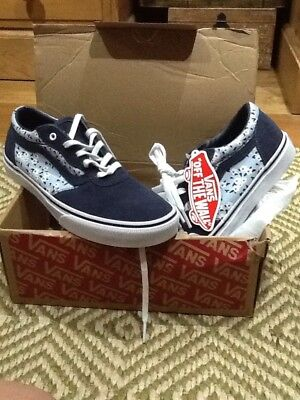 8e586748edc0b0 Ladies Vans Trainers Size 3 Daisy Limited Edition Brand New Old School