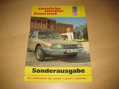 austria motor journal 5-6/1968 - Mike Spence  (+) Lotus Europa Günther Huber