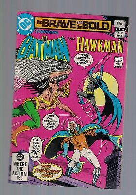 DC Comics the Brave and The Bold #186 may  1982  Batman and Hawkman