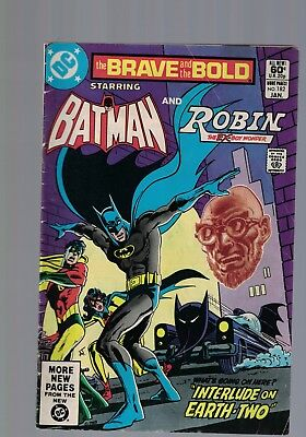 DC Comics the Brave and The Bold #182 January 1982 Batman and Robin