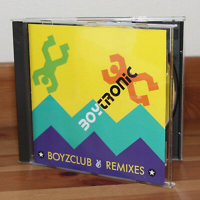 Boytronic Boyzclub Remixes CD Album 1991 Phonogram GmbH aus Sammlung
