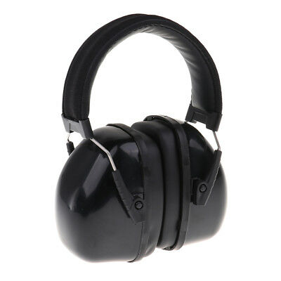 Kids Safety Sound Impact Ear Muffs Hearing Protection Noise Reduction Black