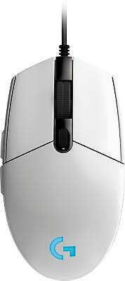 Logitech - G203 Prodigy Wired Optical Gaming Mouse with RGB Lighting - White