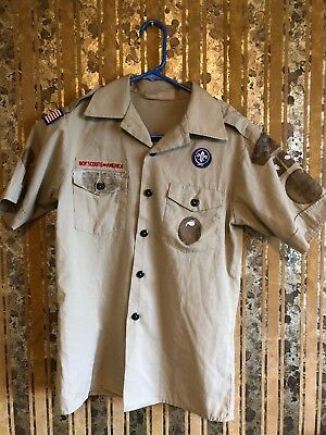 Boy Scouts Of America Shirt Size Youth Large.                X