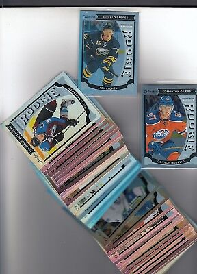 2015-16 Upper Deck O-Pee-Chee Update Rainbow Foil Complete Set Mcdavid Rc