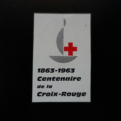 Vignette Commemorative Labels Centenaire De La Croix Rouge