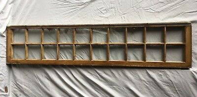 Antique Transom Pattern Window Shabby Vintage Chic 20 Lite 14x64 149-18C