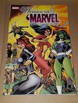 WOMEN OF MARVEL - CELEBRATING SEVEN DECADES 7 - TPB - MARVEL COMICS First print