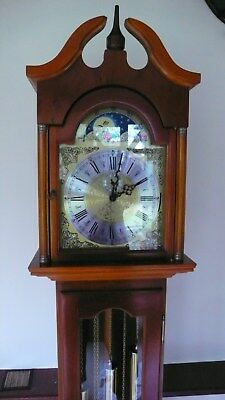 New Grandmother Clock - Manufactured In The Uk With German Movement